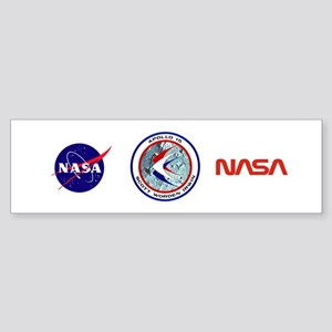 Apollo 15 Sticker (Bumper)