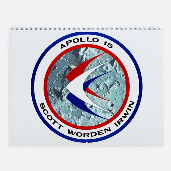 Apollo 15 Wall Calendar