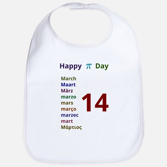 Happy Pi Day Bib