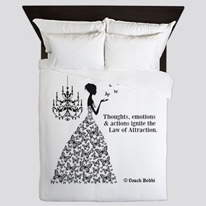 Law of Attraction Queen Duvet