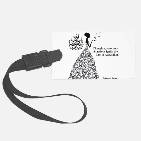 Law of Attraction Luggage Tag