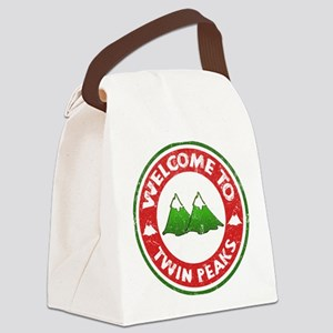 Welcome To Twin Peaks Canvas Lunch Bag