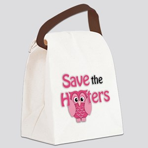 Save the Hooters Canvas Lunch Bag