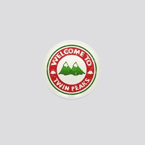 Welcome To Twin Peaks Mini Button