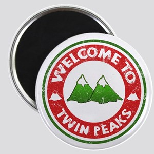 Welcome To Twin Peaks Magnet