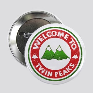 """Welcome To Twin Peaks 2.25"""" Button"""