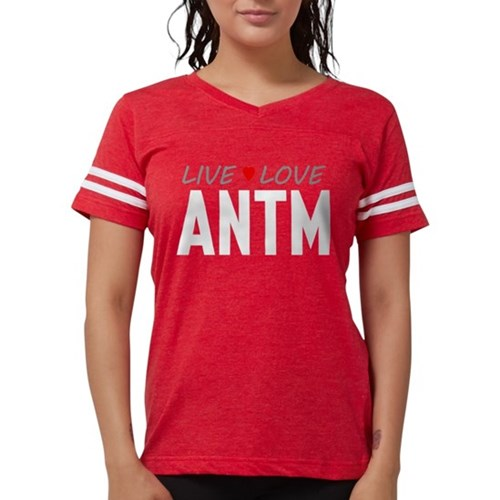 Live Love ANTM Womens Football Shirt