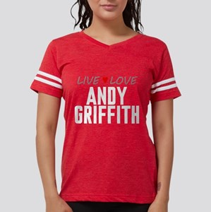 Live Love Andy Griffith Womens Football Shirt