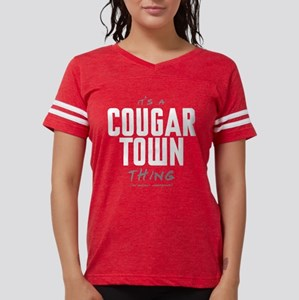 It's a Cougar Town Thing Womens Football Shirt