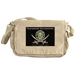 Pirate Flag for Tasmanian Geographic Messenger Bag