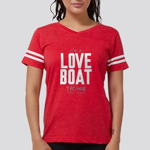 It's a Love Boat Thing Womens Football Shirt