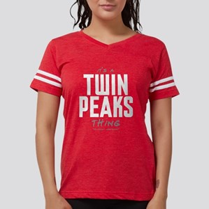 It's a Twin Peaks Thing Womens Football Shirt