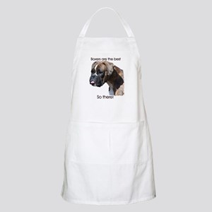 Boxers are the Best Brindle u BBQ Apron