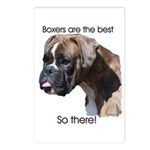 Boxers are the Best Brindle u Postcards (Package o