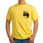 Boxers are the Best Brindle u Yellow T-Shirt