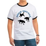 Rescue Dogs Rule Ringer T
