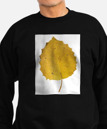 Golden Aspen Leaf Sweatshirt