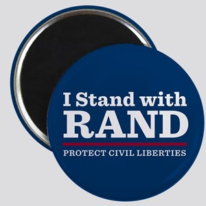 I Stand With Rand Magnet