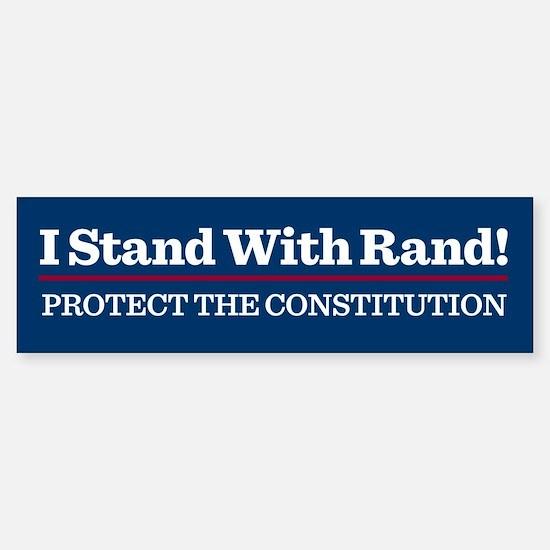 I Stand With Rand Bumper Bumper Bumper Sticker