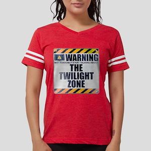 Warning: The Twilight Zone Womens Football Shirt