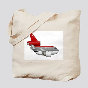 northwest airlines DC 10 Tote Bag