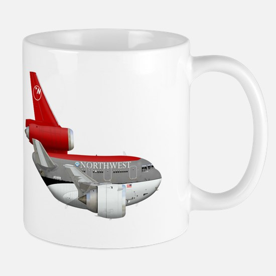 northwest airlines DC 10 Mug