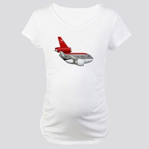 northwest airlines DC 10 Maternity T-Shirt