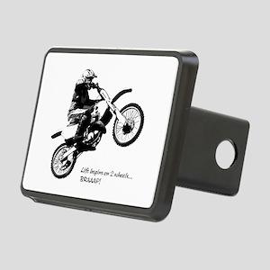 Dirtbike Rectangular Hitch Cover