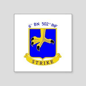 6th BN 502nd INF Sticker