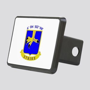6th BN 502nd INF Hitch Cover