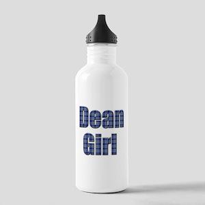 Dean Girl (blue plaid) Water Bottle