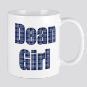 Dean Girl (blue plaid) Mug