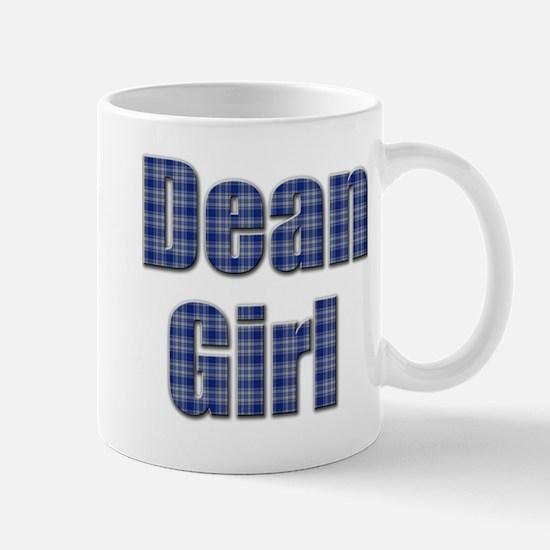 Dean Girl (blue plaid) Mug