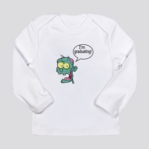 Im Graduation with Zombie Long Sleeve T-Shirt