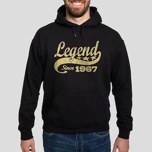 Legend Since 1967 Hoodie (dark)