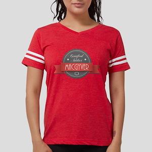 Certified MacGyver Addict Womens Football Shirt