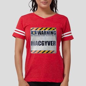 Warning: MacGyver Womens Football Shirt