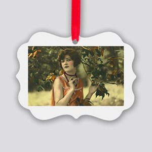 Autumn Beauty Picture Ornament
