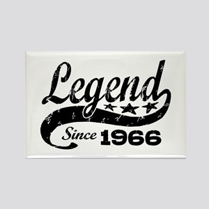 Legend Since 1966 Rectangle Magnet