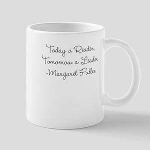 Margaret Fuller: Reader Leader (Script) Mug