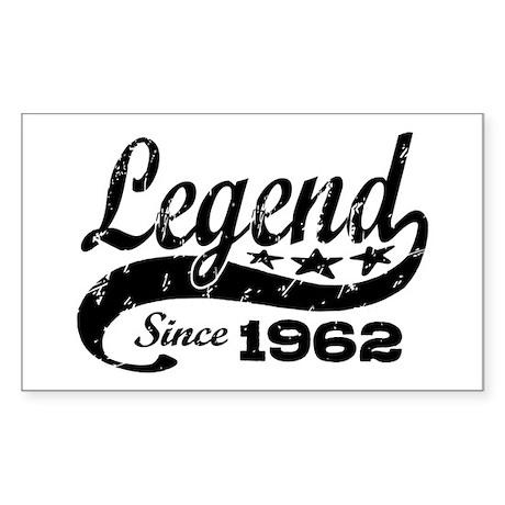Legend Since 1962 Sticker (Rectangle)