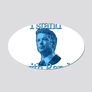I STAND WITH RAND Wall Decal