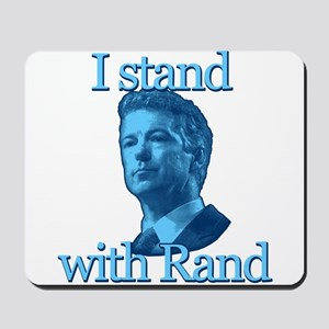 I STAND WITH RAND Mousepad