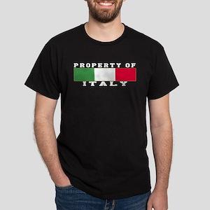 Property Of Italy Dark T-Shirt