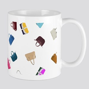 Colorful Handbags Mugs