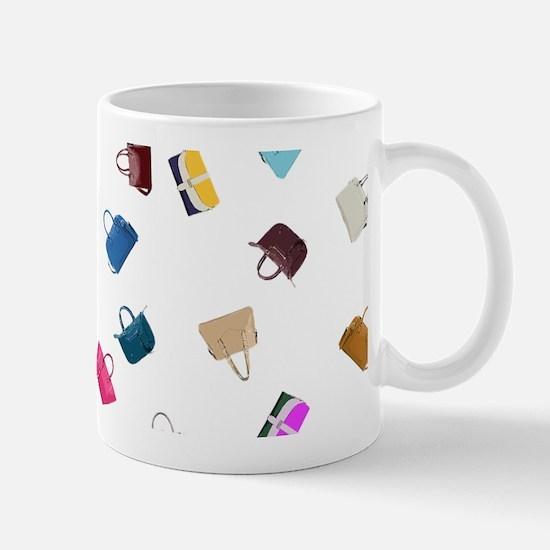Colorful Handbags Mugs