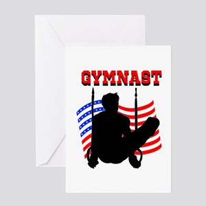 ALL AROUND GYMNAST Greeting Card