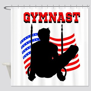 ALL AROUND GYMNAST Shower Curtain