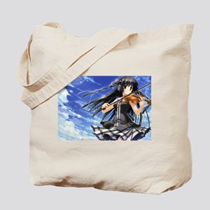 Anime Violin Tote Bag