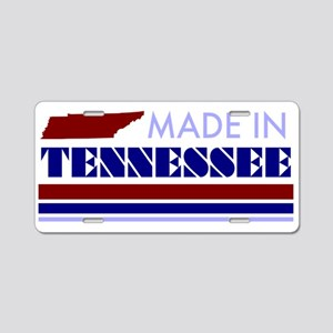 Made in... Aluminum License Plate